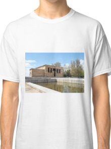 Authentic Egyptian temple Classic T-Shirt