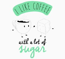 I like coffee Unisex T-Shirt