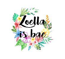 Zoella Is Bae Photographic Print