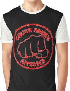 Chuck Norris Approved Super Fist Graphic T-Shirt