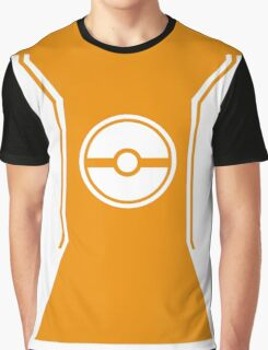 Pokemon Go Trainer Orange Graphic T-Shirt