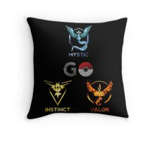 Go Teams Throw Pillow