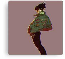 Murdoc Niccals Bomber jacket Gorillaz Canvas Print