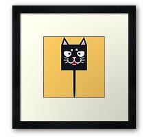 Cute Kitty Framed Print