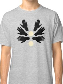 Touch my Hands Pattern Classic T-Shirt