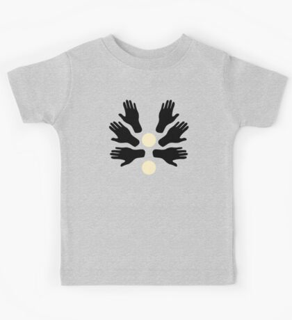 Touch my Hands Pattern Kids Tee