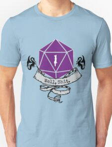 Critical Fail Roll Unisex T-Shirt