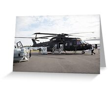 Agusta-Westland HH-101 helicopter  Greeting Card