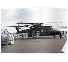 Agusta-Westland HH-101 helicopter  Poster