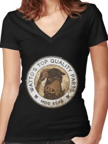 Watto's Top Quality Parts Women's Fitted V-Neck T-Shirt