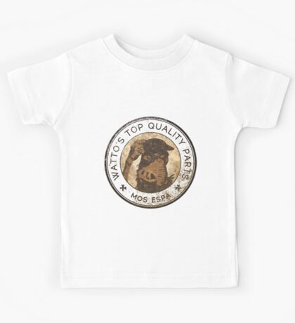 Watto's Top Quality Parts Kids Tee