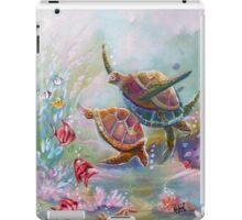 Dancing Sea Turtles iPad Case/Skin