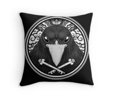 Storm Crow ! Throw Pillow
