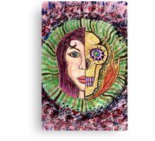 Unique Card Art 97 Canvas Print