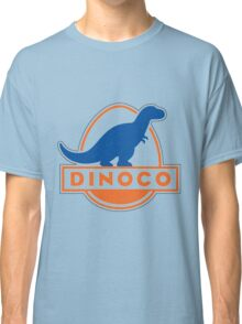 Dinoco Sky Blue Childrens Classic T-Shirt