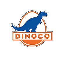 Dinoco Sky Blue Childrens Photographic Print