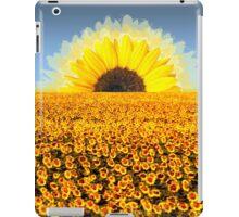 Sun Flower Sun iPad Case/Skin