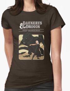D&D Womens Fitted T-Shirt
