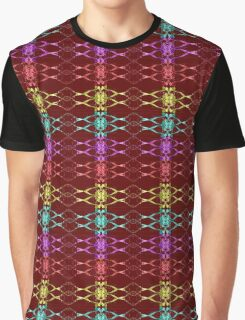 Splash colorful toffee loaded Ribbon look Graphic T-Shirt