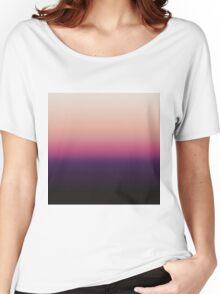 Ombré Sunset Women's Relaxed Fit T-Shirt