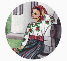 Folk art - I'm in love  T-Shirt