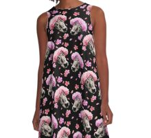 Galgoflowers A-Line Dress