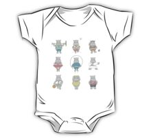 The Daily Life of A Hippo One Piece - Short Sleeve