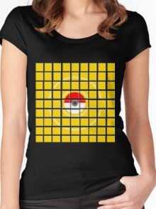 Gotta Catch 'Em All. (Team Instinct) Women's Fitted Scoop T-Shirt
