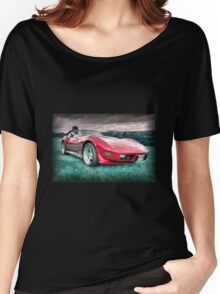 Red Stingray  Women's Relaxed Fit T-Shirt