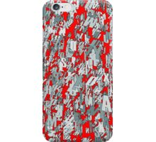 The letter matrix RED iPhone Case/Skin
