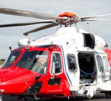 Coastguard rescue helicopter  Sticker