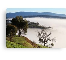 Murchison Gap Fog Canvas Print