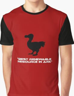 Dodo - Best Renewable Resource in Ark Graphic T-Shirt