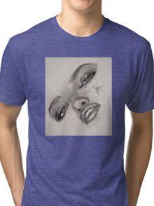 Drawing by TrulySketchy Tri-blend T-Shirt