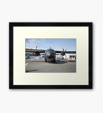 Airbus A400m Military Transport Aircraft  Framed Print