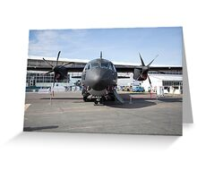 Airbus A400m Military Transport Aircraft  Greeting Card