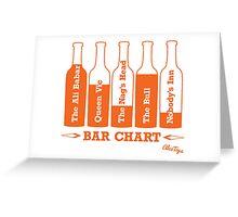 Bar Chart Greeting Card