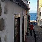Street in Santa Cruz de la Palma by Aleksandra Misic