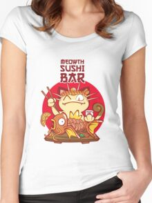 Sushi Bar Women's Fitted Scoop T-Shirt