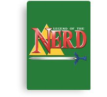 Legend of the Nerd Canvas Print