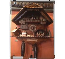 German Cuckoo Clock iPad Case/Skin