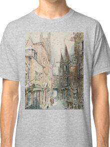 Beatrix Potter old English Street Illustration Classic T-Shirt