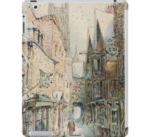 Beatrix Potter old English Street Illustration iPad Case/Skin