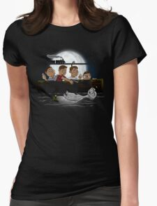 Stand By E.T. Womens Fitted T-Shirt