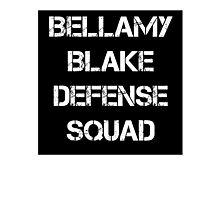 Bellamy Blake Defense Squad Photographic Print