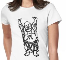 Laughing Buddha Womens Fitted T-Shirt