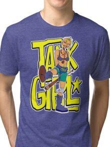 Funny Tank Girl Tri-blend T-Shirt