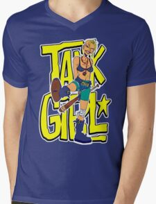 Funny Tank Girl Mens V-Neck T-Shirt