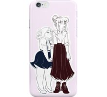 Cute Girlfriends iPhone Case/Skin