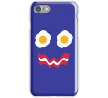 Eggs and Bacon Face iPhone Case/Skin